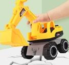 挖掘機玩具 大號挖掘機工程車套裝男孩男童推土挖土鏟車翻斗小汽車兒童【快速出貨八折搶購】