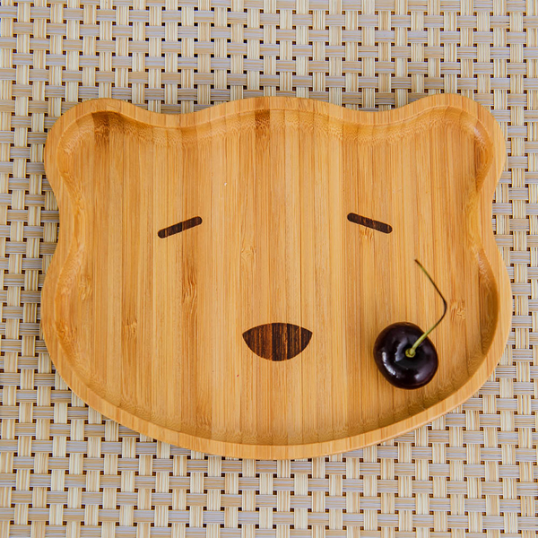 Natural動物餐盤-小熊-生活工場