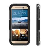 水漾Sharks box HTC M7/M8/M9 IP68級 防水手機殼-黑
