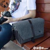 單反攝影包80D單肩200D便攜男100D佳能750d專業6d2尼康5D4相機袋 西城故事