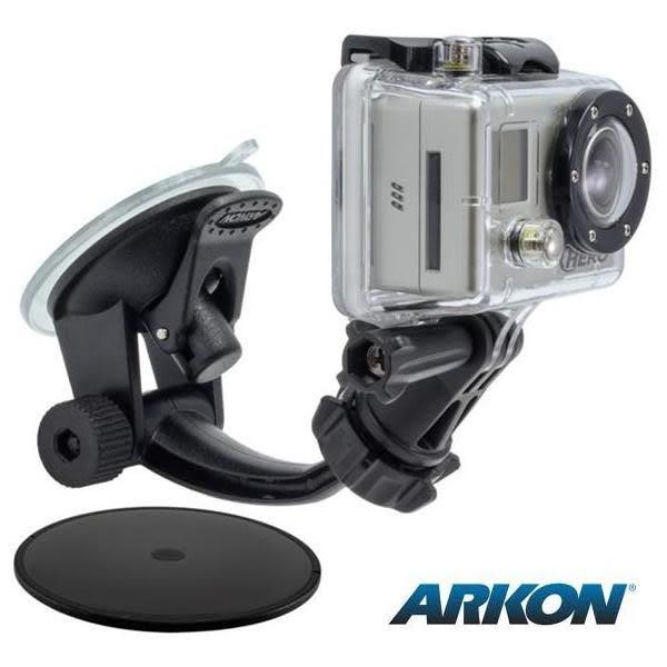 全球第一品牌 / ARKON GoPro HERO運動相機專用吸盤車架組- Arkon GP114
