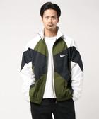 Nike AS M NSW RE-ISSUE JKT WVN休閒外套 BV5211331男款 軍綠白iSport愛運動】