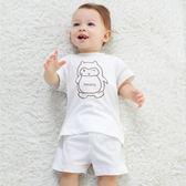 618好康鉅惠短袖套裝夏季純棉內衣新生兒衣服寶寶睡衣