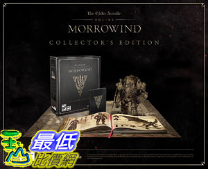 [106美國直購] 2017美國暢銷軟體 The Elder Scrolls Online Morrowind PC Collectors Edition