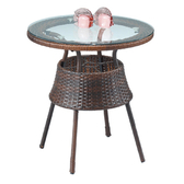 【YFS】海莉休閒桌-60x60x62cm