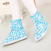 女款 雨天防水防滑雨鞋套 戶外旅行加厚耐磨 防沙鞋套 享購
