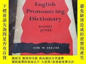 二手書博民逛書店english罕見pronouncing dictionary