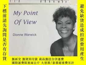二手書博民逛書店my罕見point of view dionne warwick