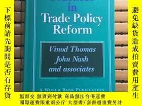 二手書博民逛書店(外文)罕見Best Practices in Trade Policy Reform 貿易政策改革的最佳做法【英
