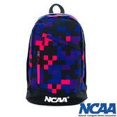 後背包 帆布包 NCAA包包跳躍格子-深紫色 5421185-780