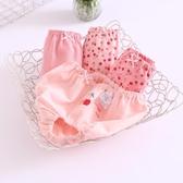 女童內褲純棉寶寶面包褲小童短褲安全褲3-4歲a類小女孩兒童三角褲