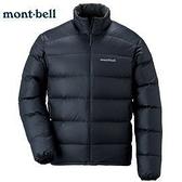 [好也戶外]mont-bell Light Alpine Jacket 800FP男立領外套-黑/深褐 No.1101359