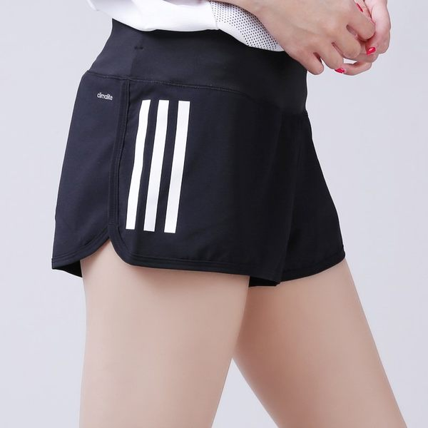 [TellCathy 4 ]adidas 女 GYM SHORT 3S 愛迪達 運動短褲 黑- AJ4851