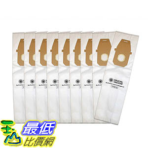 [106美國直購] 9 Type Q Allergen Bags for Hoover Platinum UH30010COM Upright Vacuums; Compare to Hoover