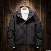 男士棉服新款冬季外套男韓版潮流短款帥氣休閒學生冬裝男棉衣  遇見生活