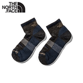 【The North Face 輕量健行羊毛襪《藍棕》】3CNO/美麗諾羊毛襪子/吸濕透氣/耐磨/短襪/襪子/跑步