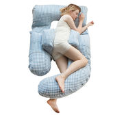 孕婦枕頭護腰側睡枕托腹抱枕多功能u型枕孕婦用品睡覺側臥枕孕
