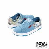 Royal Elastics Icon Washed 經典運動-水洗丹寧x花卉印花