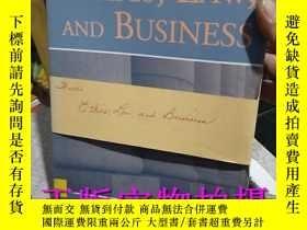 二手書博民逛書店罕見實拍!ETHICS, LAW,AND BUSINESS 倫理