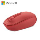 Microsoft 微軟1850 無線行動滑鼠 火焰紅