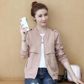 新款韓版休閒秋季女裝外套百搭矮個子棒球服夾克小外套開衫潮 雙12