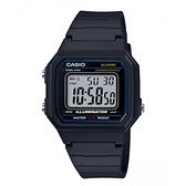 CASIO 卡西歐/方形數字錶款(W-217-1A)