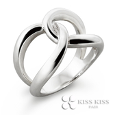 KISS KISS無限純銀戒指