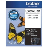 Brother LC669XL BK 黑色傳真機墨水匣