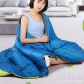 睡袋 成人戶外室內男女冬季加厚保暖露營隔臟睡袋單人睡袋LB2925【Rose中大尺碼】