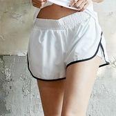 瑜伽健身褲夏大碼寬鬆速幹運動短褲女健身房訓練緊身跑步褲防走光   LannaS