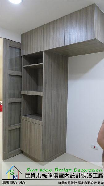 系統家具/價格/台中系統家具/推薦/系統櫃/系統櫥櫃工廠//室內設計/木工裝潢/系統高置物櫃sm0703
