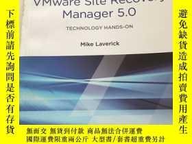 二手書博民逛書店Administering罕見VMware Site Recov