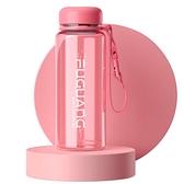 杯子男女士學生運動便攜過濾茶杯防摔戶外大容量塑料水杯 蘑菇街