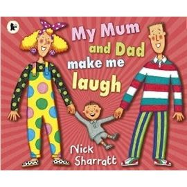 【麥克書店】MY MUM AND DAD MAKE ME LAUGH /英文繪本《主題: 母親節》