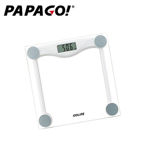 【PAPAGO!】GOLiFE Fit Plus 藍牙智慧體重計