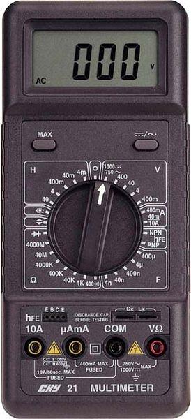 CHY-21 多功能LCR大螢幕顯示數字電錶