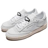 Reebok 休閒鞋 Club C 85 Hardware 白 皮革鞋面 復古奶油底 女鞋 運動鞋【ACS】 BS9595