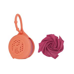 【Hypercool】奈米科技極度涼感巾X4 (S)螢光橘-S