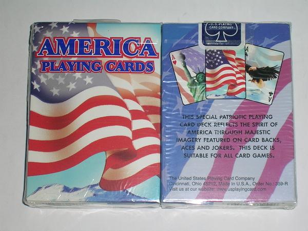 【USPCC撲克】美國 美國旗 撲克牌 AMERICA PLAYING CARDS