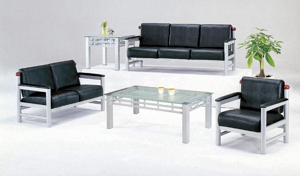 【 IS空間美學】布卡洛皮面鋼管沙發組 (1+2+3人座)