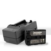 Dr.battery 電池王 for SONY NP-FM50/QM51 鋰電池+智慧型快速充電器
