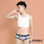 《Double束胸》小資最愛$780  舒適背心 運動內衣型束胸 套頭半身【D24】