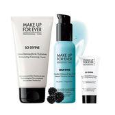 MAKE UP FOR EVER  經典卸妝組-完美冷霜軟管包裝150ml+眼唇卸妝凝乳100ml+