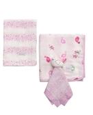 奇哥純棉紗布被禮盒-小鳥 (TLC69900P) 1410元+附奇哥紙袋(現貨一組)