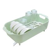 瀝水籃廚房瀝水碗架塑料碗櫃碗碟收納架蔬菜餐具置物架碗筷瀝水架  YDL  LannaS