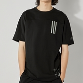 Adidas TH TEE DRY SILO 男 黑 運動 休閒 短袖 GU1759