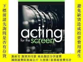 二手書博民逛書店Acting罕見for the ScreenY346464 Ma