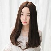 長假髮(整頂)-中分內彎及胸長直髮女假髮73rr50[巴黎精品]