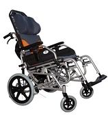 新欣機械式輪椅 (未滅菌) 鋁合金高靠背擺位式輪椅