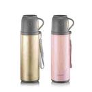 《鉦泰生活館》【日本AWSON歐森】不鏽鋼真空保溫瓶/保溫杯ASM-26水杯式500ML